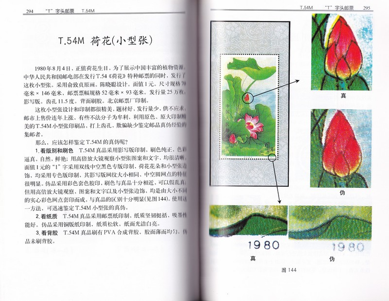 F5512, Catalogue of China Fake Stamps (1999)