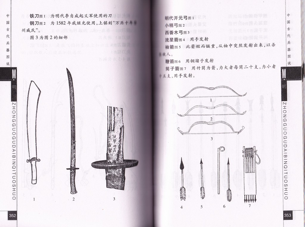 F7008 China's Ancient Weapons, Pictures and Story (2003)