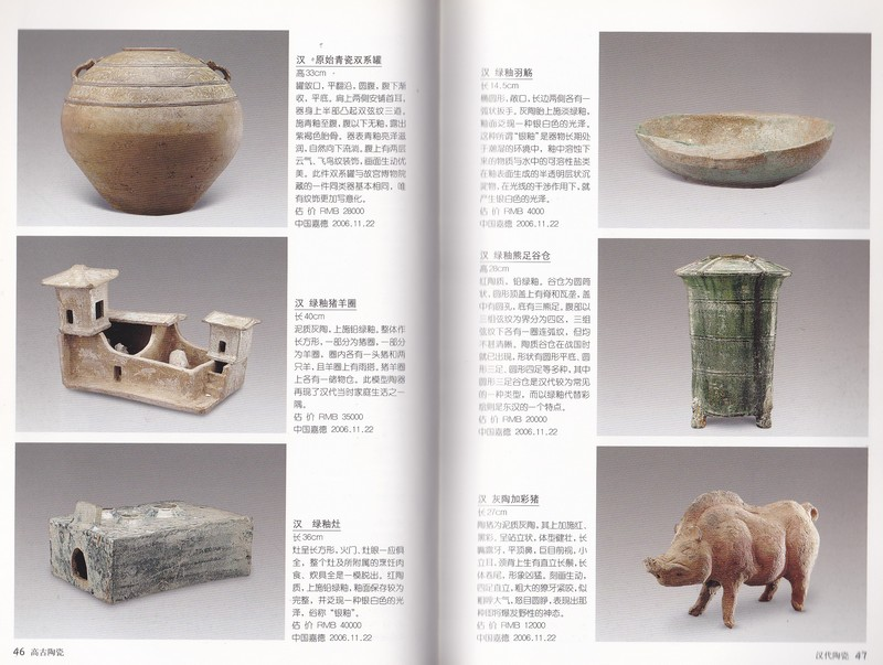 F7375 China Collection Gallary: Illustrated Handbook of Ancient Ceramics (2007)