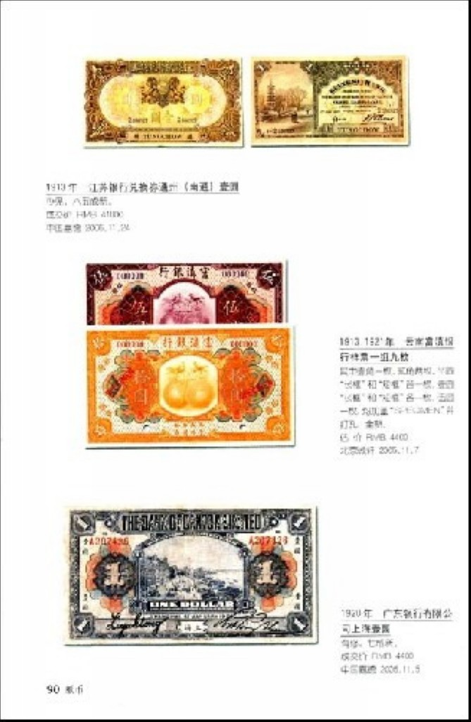 F7381 China Collection Gallary: Illustrated Handbook of Banknotes (2007) - Click Image to Close