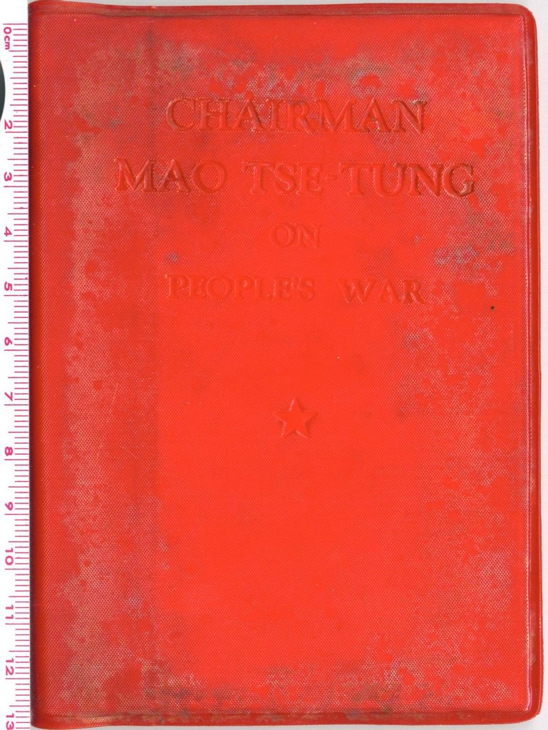 F5032 Chairman Mao Tse-Tung on People's War (Pocket Size)