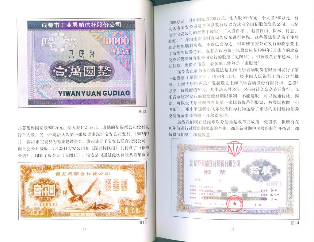 F2604 Illustrated Catalogue of China's Stock (2001)