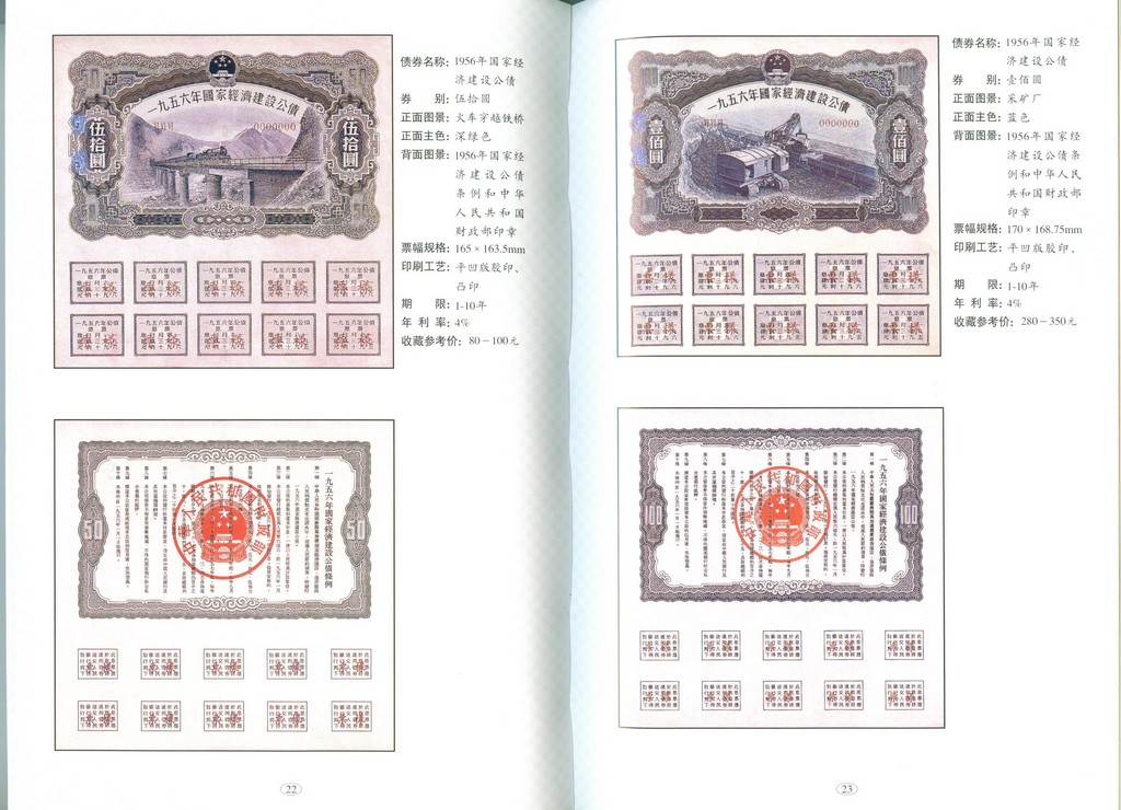 F2606 Illustrated Catalogue of China's Bond (2003)