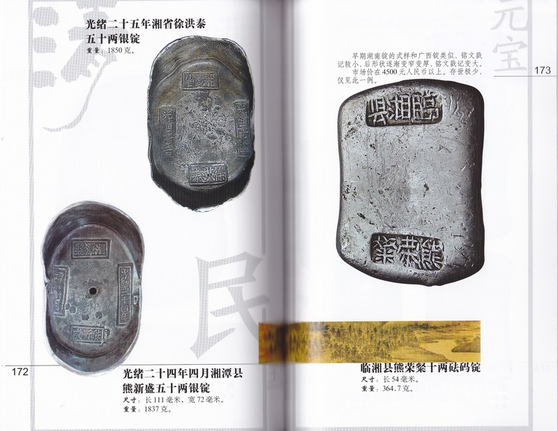 F1522, Collection of China's Silver Ingot (2006)