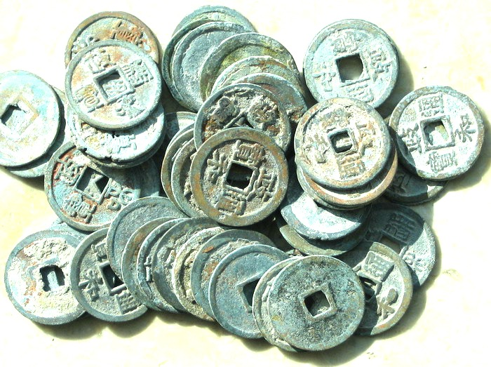 K2803, Zheng-He Tong-Bao, 25 Pcs Wholesale, China AD 1101-1125