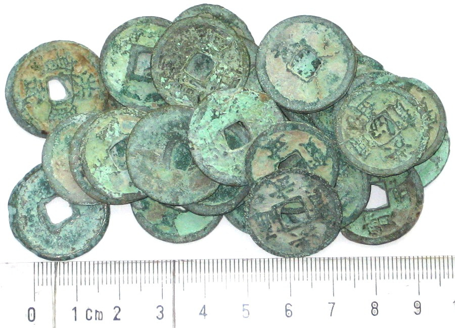 K3431, Hong-Wu Tong-Bao 30 Pcs Coins, China Ming Dynasty, AD 1368-1398