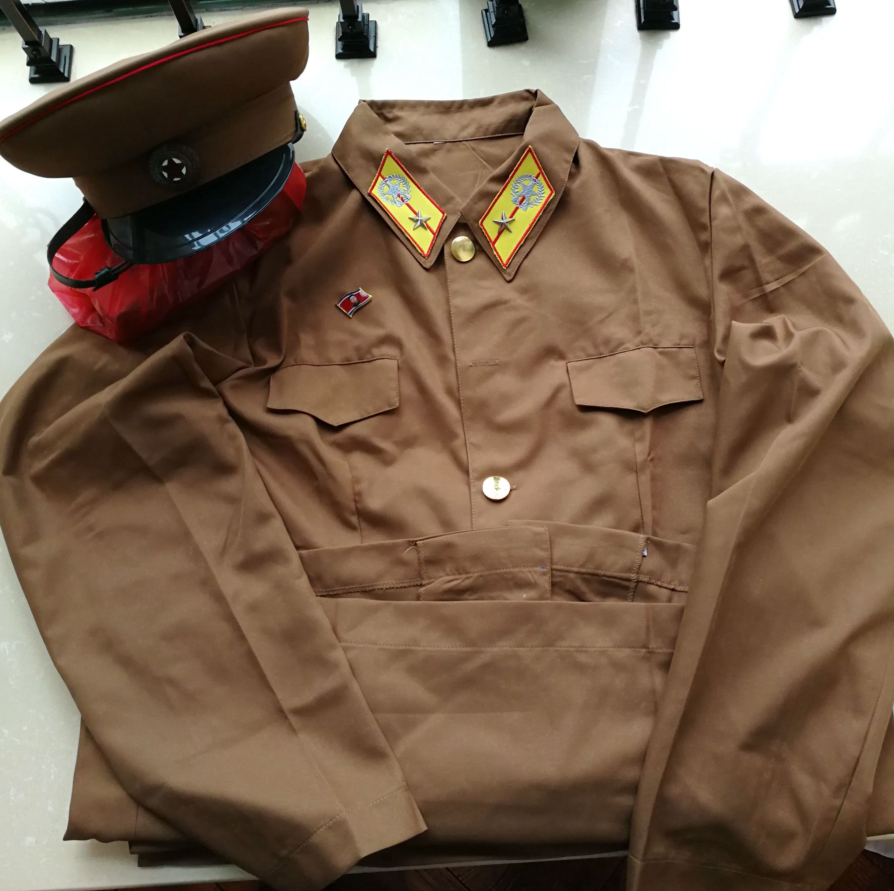 L8552, Korea Army Summer Uniform Suit, 2017 Style