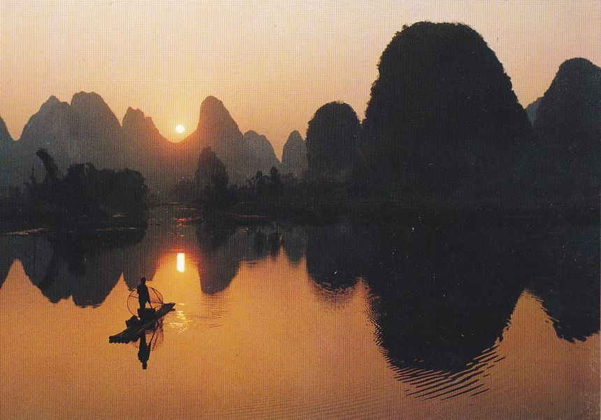 YP6(A) Landscapes of Guangxi 1988