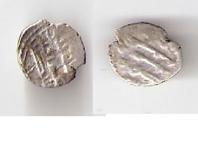 P4302, Silk Road Extremely Small Silver Coin, 0.5 gram